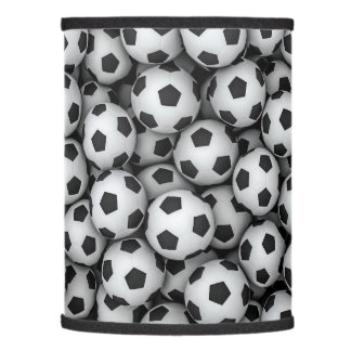 Football lamp shades zazzle soccer balls lamp shade mozeypictures Images