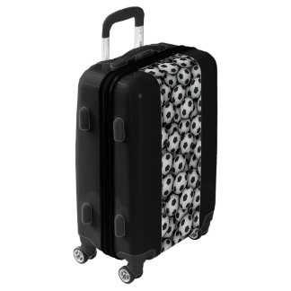 Soccer Balls Luggage Suitcase