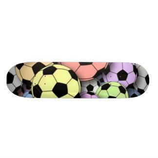 Soccer Balls of Color Skateboard