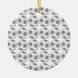 Soccer balls ornament