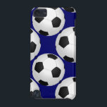 "soccer balls pattern iPod touch (5th generation) case<br><div class=""desc"">sports inspired,  soccer balls pattern design</div>"