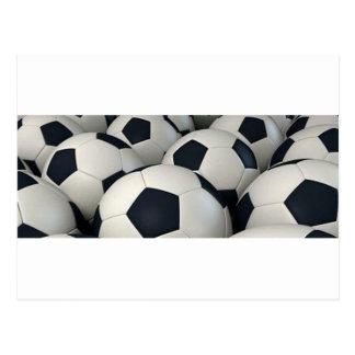 Soccer Balls Postcard