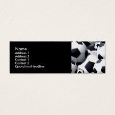 Soccer Balls Profile Cards at Zazzle