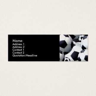 Soccer Balls Profile Cards