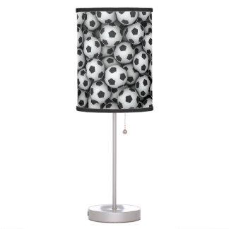 Soccer Balls Table Lamp