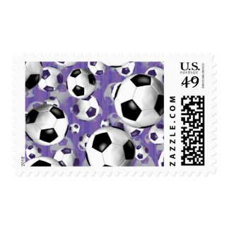 Soccer Ballz! Postage Stamps