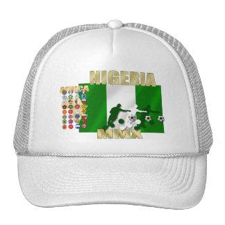 Soccer baseball cap for Nigerians worldwide Trucker Hat