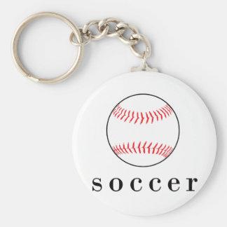 Soccer Baseball Funny Hilarious Sports T-Shirt Key Chains