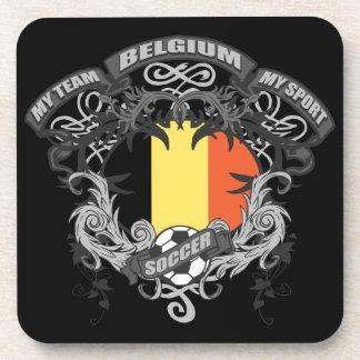 Soccer Belgium Beverage Coaster