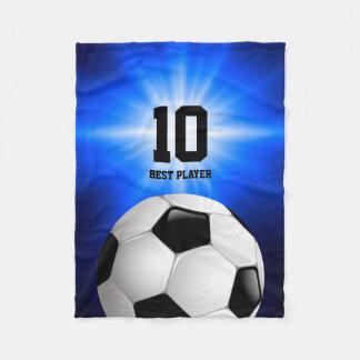 Soccer Best Player  | Sports Cool Gifts Fleece Blanket