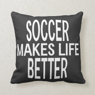 Soccer Better Pillow - Assorted Styles & Colors