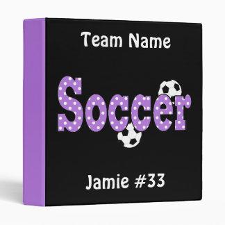 Soccer Binder