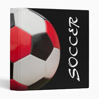 Soccer Binder Black