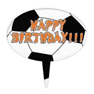 Soccer Birthday Cake Topper