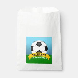 Soccer Birthday Party Favor Bag