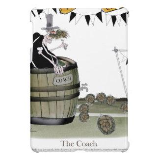 soccer black + white team coaching iPad mini cover