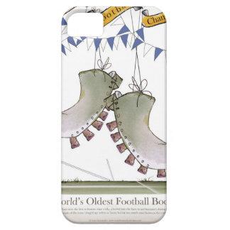 soccer blue team boots iPhone SE/5/5s case