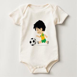 Soccer Boy Baby Bodysuit