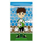 Soccer Boy Bookmark Business Card Templates