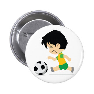 Soccer Boy Button