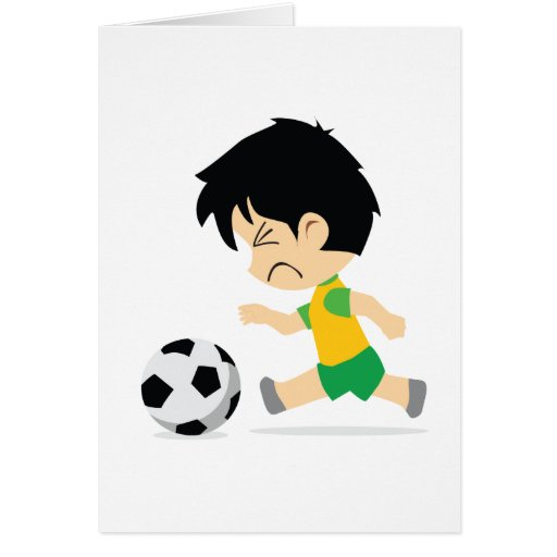 Soccer Boy Cards