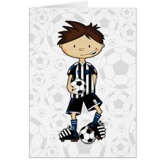 Soccer Boy Card