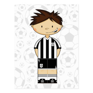 Soccer Boy Card Postcard