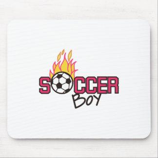 Soccer Boy Mouse Pad