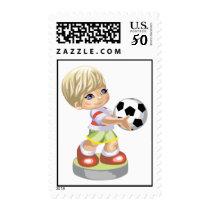 Soccer Boy Postage
