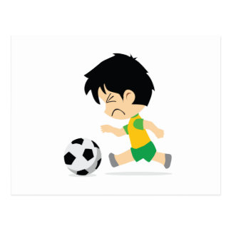 Soccer Boy Post Cards