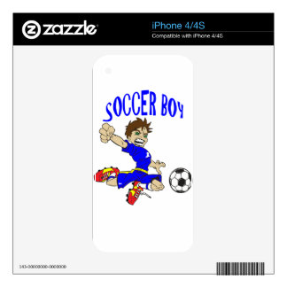 SOCCER BOY SKINS FOR THE iPhone 4