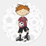 Soccer Boy Sticker Sheet