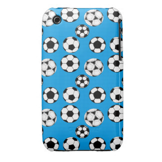 Soccer boys blue 3G / GS Case-Mate iPhone 3 Cases