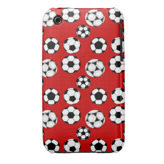 Soccer boys red 3G / GS iPhone 3 Case-Mate Case