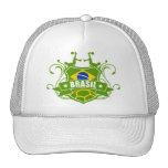 soccer BRASIL Mesh Hats