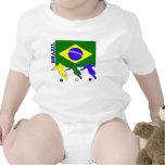 Soccer Brazil Bodysuit