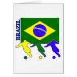 Soccer Brazil Greeting Cards