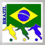 Soccer Brazil Print