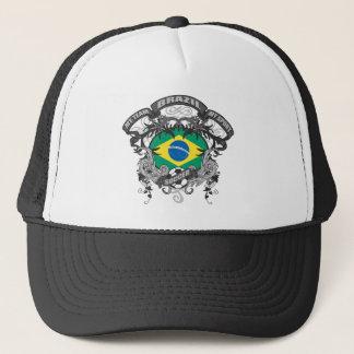Soccer Brazil Trucker Hat