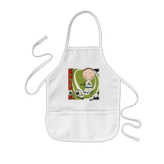 SOCCER - Brunette Boy tshirts and Gifts Apron