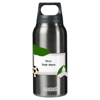 Soccer Bulletin (customizable) Insulated Water Bottle