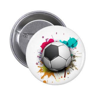 Soccer Burst Button