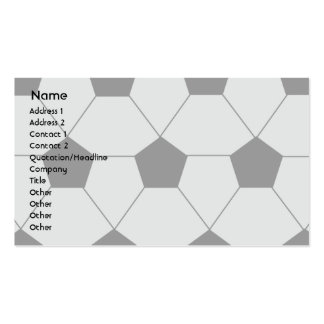 Soccer - Business Double-Sided Standard Business Cards (Pack Of 100)