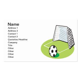 Soccer Double-Sided Standard Business Cards (Pack Of 100)