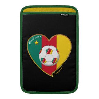"Soccer ""CAMEROON"" Football Team, Fútbol de Camerún Funda Para Macbook Air"