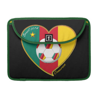 "Soccer ""CAMEROON"" Football Team, Fútbol de Camerún Funda Macbook Pro"