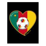 "Soccer ""CAMEROON"" FOOTBALL Team, Fútbol de Camerún Postales"