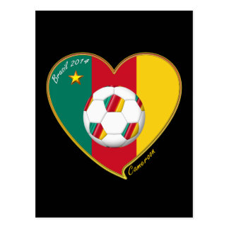 "Soccer ""CAMEROON"" FOOTBALL Team, Soccer of Postcard"