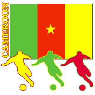 Soccer Cameroon Statuette