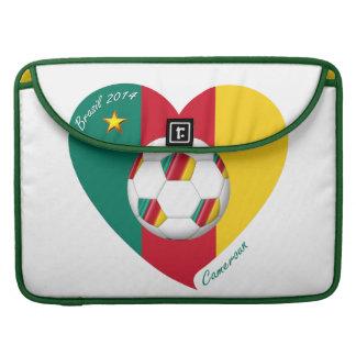 """Soccer """"CAMEROUN"""" Football Team, Fútbol de Camerún Funda Para Macbook Pro"""